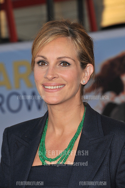 "Julia Roberts at the world premiere of her new movie ""Larry Crowne"" at Grauman's Chinese Theatre, Hollywood..June 27, 2011  Los Angeles, CA.Picture: Paul Smith / Featureflash"
