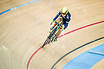 Hui Yat Nga of X SPEED in action during the Women Qualifying (200M Flying Start) at the Hong Kong Track Cycling Race 2017 Series 5 on 18 February 2017 at the Hong Kong Velodrome in Hong Kong, China. Photo by Marcio Rodrigo Machado / Power Sport Images
