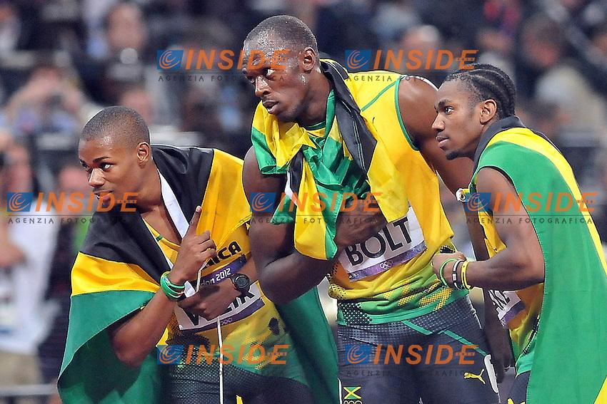 BOLT Usain (JAM).Londra 09/8/2012.Atletica Leggera finale 200m maschile. .Olympic Games London 2012.Olimpiadi Londra 2012.Foto Giovanni Minozzi / Insidefoto