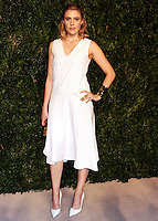 NEW YORK CITY, NY, USA - NOVEMBER 03: Greta Gerwig arrives at the 11th Annual CFDA/Vogue Fashion Fund Awards held at Spring Studios on November 3, 2014 in New York City, New York, United States. (Photo by Celebrity Monitor)