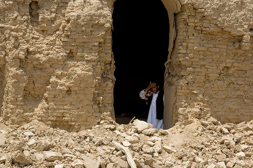 On May 4th 2009 Granai village in the Bala Baluk area of Farah province was the subject of air strikes by Coalition Forces. 147 civilians were killed making the single biggest loss of life since the war began in 2001.
