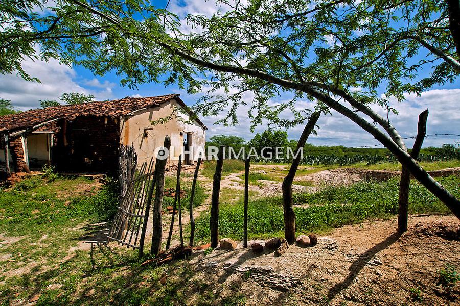 Casa em area rural no municipio de Japi. Rio Grande do Norte. 2015. Foto de Meysa Medeiros.