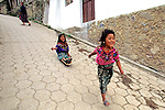 Little Girls Playing