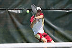 08 May 2015: Wyatt Lovera. The University of Denver Pioneers played the Mississippi State University Bulldogs at Cone-Kenfield Tennis Center in Chapel Hill, North Carolina in a 2015 NCAA Division I Men's Tennis Tournament First Round match. MSU won the match 4-3.