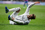 Real Madrid´s Sergio Ramos during La Liga match at Santiago Bernabeu stadium in Madrid, Spain. March 15, 2015. (ALTERPHOTOS/Victor Blanco)