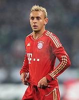 FUSSBALL   1. BUNDESLIGA  SAISON 2011/2012   18.  Spieltag   20.01.2012 Borussia Moenchengladbach   - FC Bayern Muenchen  Rafinha (FC Bayern Muenchen)