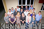 Former Duagh NS students from the class of '92 enjoying a class reunion last Saturday night in O'Brien's Bar, Duagh.
