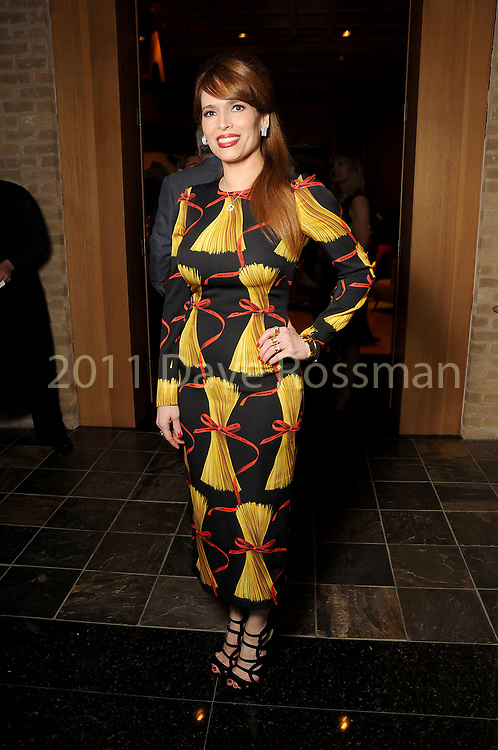 Karina Barbieri at the Recipe for Success' Delicious Alchemy Dinner at the home of Becca Cason Thrash Wednesday April 19,2017.(Dave Rossman Photo)