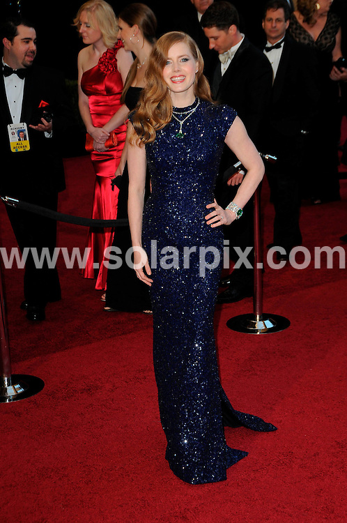 **ALL ROUND PICTURES FROM SOLARPIX.COM**                                             **SYNDICATION RIGHTS FOR UK, AUSTRALIA, DENMARK, PORTUGAL, S. AFRICA, SPAIN & DUBAI (U.A.E) & ASIA (EXCLUDING JAPAN) ONLY**                                                                                  Arrivals for the 83rd Annual Academy Awards, Kodak Theatre, Hollywood, CA, USA.                                                                        .This pic:    Amy Adams.JOB REF:    12901    PHZ/Evans       DATE: 27.02.11                                                           **MUST CREDIT SOLARPIX.COM OR DOUBLE FEE WILL BE CHARGED**                                                                      **MUST AGREE FEE BEFORE ONLINE USAGE**                               **CALL US ON: +34 952 811 768 or LOW RATE FROM UK 0844 617 7637**