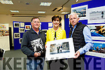 Press Photographers Association of Ireland [PPAI] Photojournalism Exhibition was opened by Mayor of Tralee Cllr Norma Foley at Tralee Library on Monday and will run till Wednesday 18th October. Pictured with Don MacMonagle and Domnick Walsh