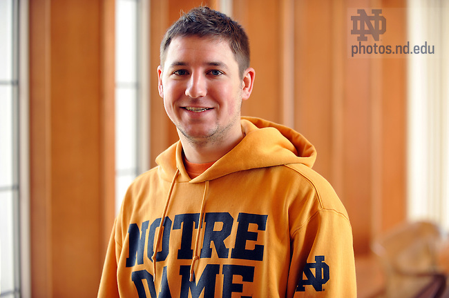 Nicholas Trapp for Spirit Newsletter..Photo by Matt Cashore/University of Notre Dame