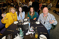 Supporters in the 1912 Lounge prior to the Sky Bet Championship match between Swansea City and Bristol City at the Liberty Stadium, Swansea, Wales, UK. Saturday 25 August 2018