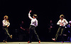 London, UK. 18.02.2018. Dramatist Pedro G. Romero and flamenco dancers Ursula López, Tamara López and Leonor Leal present Painter and Flamenco: J.R.T. as part of the Flamenco Festival London 2018 at Sadler's Wells Theatre, 18 Feb. Photo shows: Tamara López, Leonor Leal, Úrsula López. Photo - © Foteini Christofilopoulou.