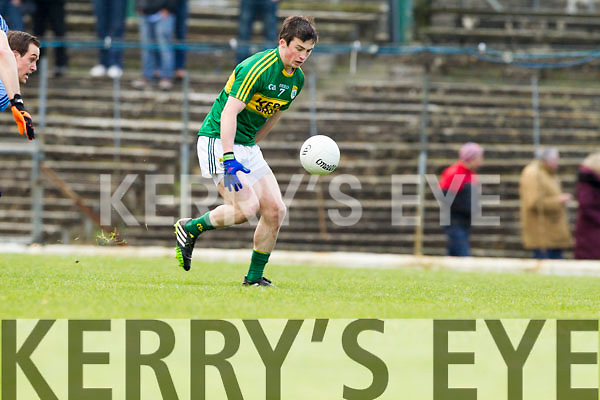 Paul Murphy Kerry in action against  Dublin in the National Football League at Fitzgerald Stadium in Killarney.