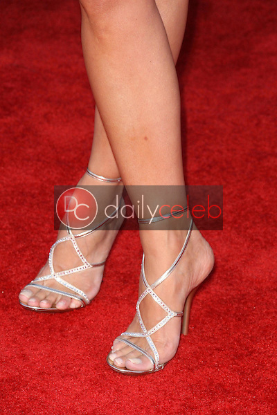 Gena Lee Nolin's shoes<br />at the Los Angeles Premiere of 'Transformers Revenge of the Fallen'. Mann Village Theatre, Westwood, CA. 06-22-09<br />Dave Edwards/DailyCeleb.com 818-249-4998