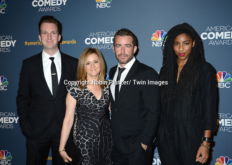 Jordan Kleeper, Samantha Bee, Jason Jones and Jessica Williams attend the American Comedy Awards on April 26, 2014 <br /> at Hammerstein Ballroom in New York City, NY, USA. The show will air on NBC on May 8, 2014.