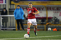 Paul Rutherford of Wrexham in action during Maidstone United vs Wrexham, Vanarama National League Football at the Gallagher Stadium on 17th November 2018