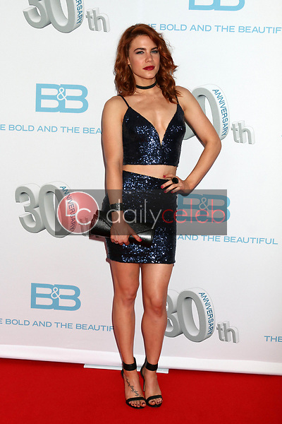 "Courtney Hope<br /> at the ""The Bold and The Beautiful"" 30th Anniversary Party, Clifton's Downtown, Los Angeles, CA 03-18-17<br /> David Edwards/DailyCeleb.com 818-249-4998"