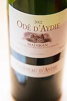 Chateau d'Aydie Cuvee Ode d'Aydie, Madiran, Sud-Ouest, France Madiran France