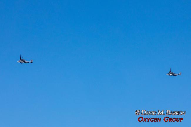 V-22 Ospreys, Military Planes