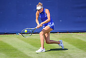 June 18th 2017, Edgbaston Priory Club; Tennis Tournament; Aegon Classic Birmingham; Sunday Qualifiers; Marketa Vondrousovs plays a forehand against Aleksandrina Naydenova