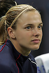 Oct 13 2007:   Lindsay Tarpley of the US WNT.  The US Women's National Team defeated Mexico 5-1 at the Edward Jones Dome in St. Louis on October 13th in their first of three expo matches.