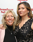 Connie Wilkin and Jennifer O'Connor attends Broadway Salutes 10 Years - 2009-2018 at Sardi's on November 13, 2018 in New York City.