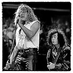 Jimmy Page and Robert Plant Walking Into Everywhere Tour, Phoenix, AZ, September 24, 1998