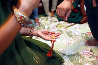 Indian wedding ceremonies of Gopal Parekh and Joanna Bell on Thursday, August 18, 2011.