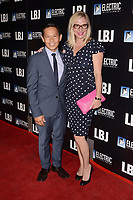 "LOS ANGELES - OCT 24:  Ernie Reyes, Lisa Reyes at the ""LBJ"" World Premiere at the ArcLight Theater on October 24, 2017 in Los Angeles, CA"