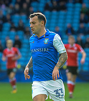 Sheffield Wednesday's midfielder Ross Wallace (33) during the Sky Bet Championship match between Sheff Wednesday and Barnsley at Hillsborough, Sheffield, England on 28 October 2017. Photo by Stephen Buckley / PRiME Media Images.