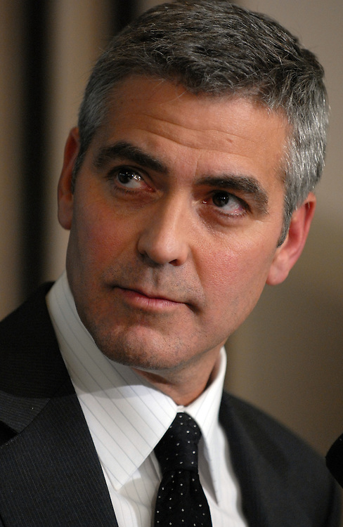 "Actor George Clooney appeared at the National Press Club for ""SAVE DARFUR: Rally to Stop Genocide.""  He discussed he and his father's recent visit to the region.  Sens. Sam Brownback, R-Kan., and Barack Obama, D-Ill., also attended."