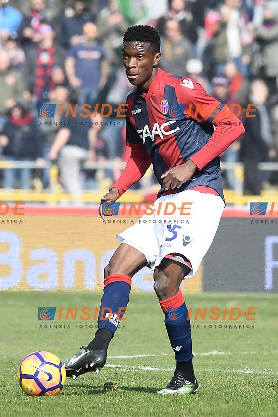 Ibrahima Mbaye <br /> Bologna 19-02-2017 Stadio Dall'Ara Football Calcio Serie A 2016/2017 Chievo Bologna - Inter. Foto Image Sport / Insidefoto
