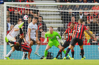 Nathan Ake of AFC Bournemouth attempts an overhead kick during AFC Bournemouth vs Sheffield United, Premier League Football at the Vitality Stadium on 10th August 2019