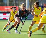 UTRECHT - Laurien Leurink (Ned)   tijdens   de Pro League hockeywedstrijd wedstrijd , Nederland-China (6-0) .  COPYRIGHT  KOEN SUYK