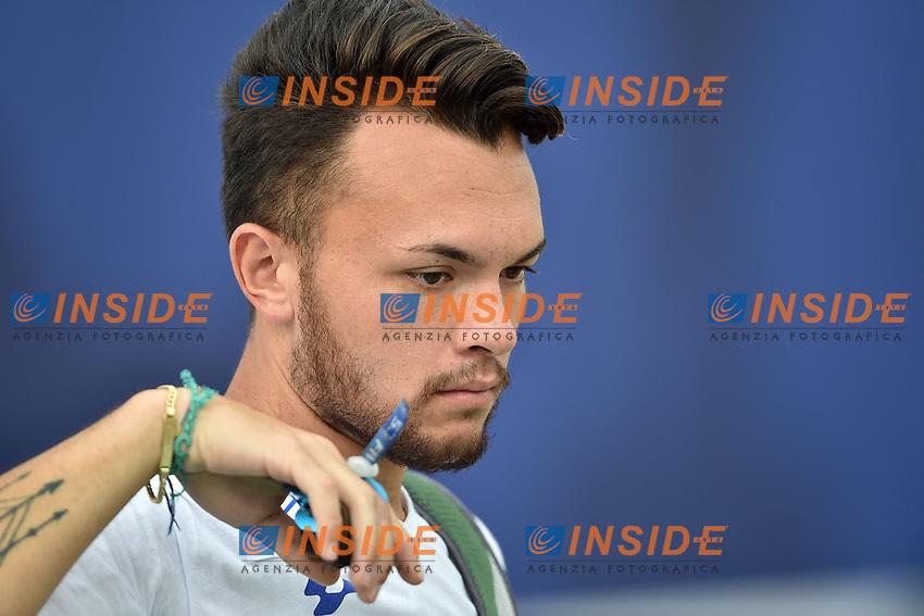 David Pasqualucci Arco Olimpico <br /> Roma 01-09-2017 Stadio dei Marmi <br /> Roma 2017 Hyundai Archery World Cup Final <br /> Finale Coppa del mondo tiro con l'arco <br /> Foto Andrea Staccioli Insidefoto/Fitarco