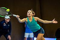 Alphen aan den Rijn, Netherlands, December 21, 2019, TV Nieuwe Sloot,  NK Tennis, Arianne Hartono (NED)<br /> Photo: www.tennisimages.com/Henk Koster