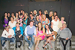 BIRTHDAY: Stacey Donovan, Rath Oraigh, Rathass,(seated 2nd from right) who held her 21st in The Deacon, Benners Hotel, Tralee with her family and friends on Friday night.................................................................... ........