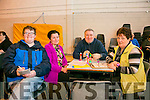l-r  Paudie Riordan, Martina Long, Denis Guerin and Bridie Mullerin enjoying the Mercy Mounthawk Monster Bingo Fundraiser on Sunday