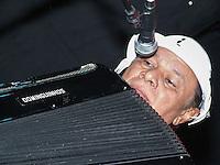 ATENÇÃO EDITOR FOTO ARQUIVO DE 22/07/2013 - SAO PAULO, SP, 23.07.2013 O cantor, compositor e sanfoneiro Dominguinho, morreu na noite desta terça-feira aos 72 anos. Na foto Dominguinhos durante apresentação no Auditório Eva Herz na Livraria Cultura na região da Avenida Paulista, em 22 de julho 2009. (Foto: William Volcov / Brazil Photo Press).