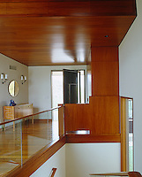 Much of the interior of this house is made from mahogany which has been sourced from tree farms