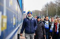 Leeds United fans arrive at Elland Road before the match<br /> <br /> Photographer Alex Dodd/CameraSport<br /> <br /> The EFL Sky Bet Championship - Leeds United v Blackburn Rovers - Wednesday 26th December 2018 - Elland Road - Leeds<br /> <br /> World Copyright &copy; 2018 CameraSport. All rights reserved. 43 Linden Ave. Countesthorpe. Leicester. England. LE8 5PG - Tel: +44 (0) 116 277 4147 - admin@camerasport.com - www.camerasport.com