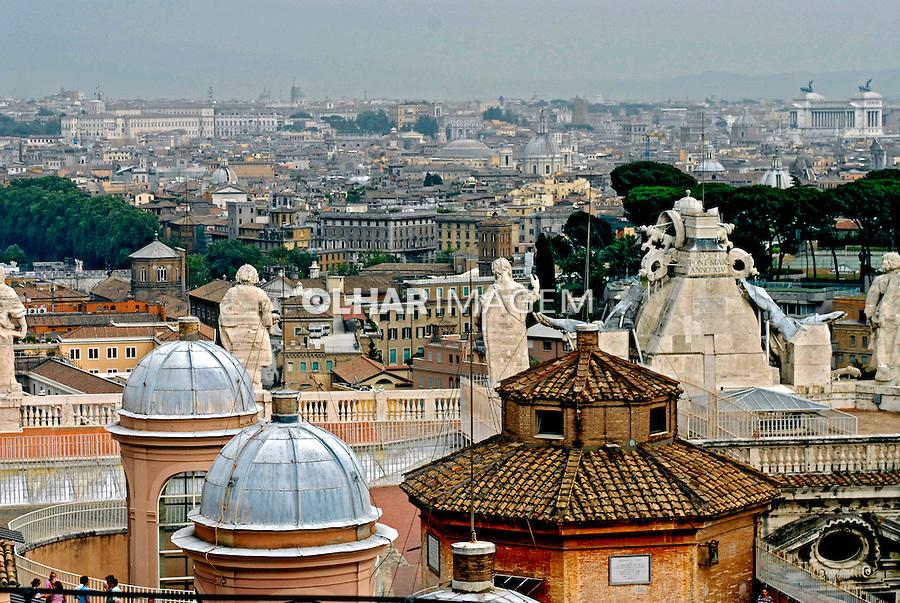 Cidade de Roma. Itália. 2006. Foto de Luciana Whitaker.
