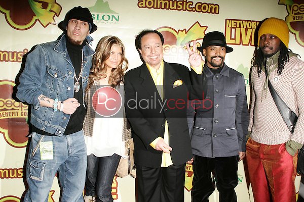 Taboo, Fergie, Sergio Mendes, Apl.de.Ap, and Will I Am<br />at The Peapod Concert Benefit presented by The Peapod Foundation and Network Live. Henry Fonda Music Box Theater, Los Angeles, CA 02-06-06<br />Dave Edwards/DailyCeleb.com 818-249-4998