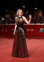 L'attrice australiana Cate Blanchett posa sul red carpet per la presentazione del film &quot;The House With a Clock in Its Walls&quot; al Festival Internazionale del Film di Roma, 19 ottobre 2018.<br /> Australian actress Cate Blanchett poses on the red carpet of the movie &quot;The House With a Clock in Its Walls&quot; during the international Rome Film Festival at Rome's Auditorium, on October 19, 2018.<br /> UPDATE IMAGES PRESS/Isabella Bonotto