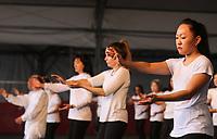 SÃO PAULO,SP, 04.08.2018 - OKINAWA FESTIVAL-SP - Movimentação durante a 16º Okinawa Festival evento que comemora as tradições japonesas com danças típicas, culinária da Ilha de Okinawa, e neste ano comemora os 110 anos da Imigração Japonesa no Brasil, o evento acontece nos dias 04 e 05 de Agosto na Associação Okinawa da Vila Carrão zona leste de São Paulo, 04. (Foto: Paulo Guereta/ Brazil Photo Press)