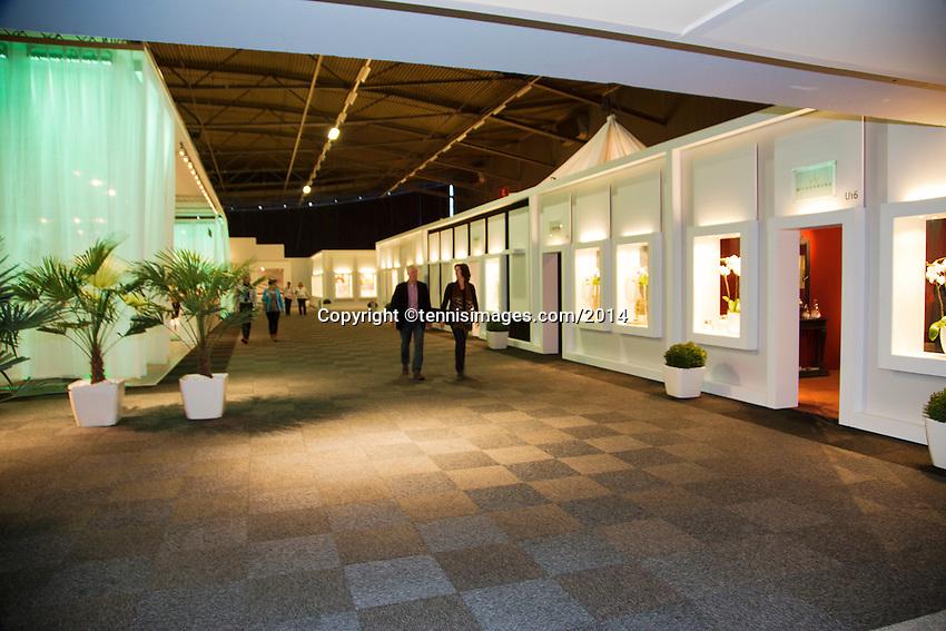 10-02-14, Netherlands,Rotterdam,Ahoy, ABNAMROWTT,  VIP Lounge<br /> <br /> Photo:Tennisimages/Henk Koster