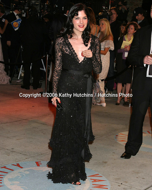 Selma Blair.Vanity Fair Oscar Party.Mortons.W Hollywood, CA.March 5, 2006.©2006 Kathy Hutchins / Hutchins Photo....
