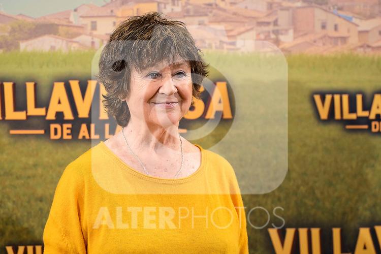 "Julieta Serrano attends to the presentation of the spanish film "" Villaviciosa de al lado"" in Madrid, Spain. November 29, 2016. (ALTERPHOTOS/BorjaB.Hojas)"