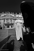 Pope Francis  during a weekly general audience at Saint Peter's square on Sept 18, 2019